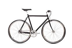 Das Brick Lane Bike Classic Commuter vereint die Form eines Singlespeeds mit einer klassischen 3 Gang Schaltung eines Cityrades.