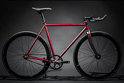 Das rote Contender von State Bicycles.