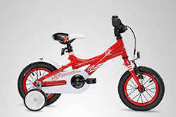 S´Cool Kinderrad XXlite in rot.
