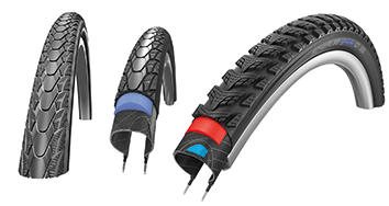 Das Reifen-Sorglos-Paket. Diese Reifen bieten wir an.