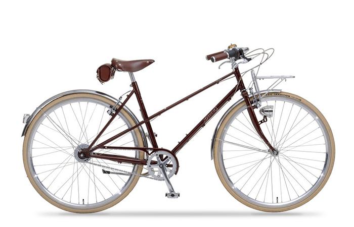 Das Greens Bike in wine red ist ein klassisches Sportrad mit modernen Komponenten.