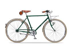 Das Greens Bike in british green ist ein klassisches Sportrad mit modernen Komponenten.