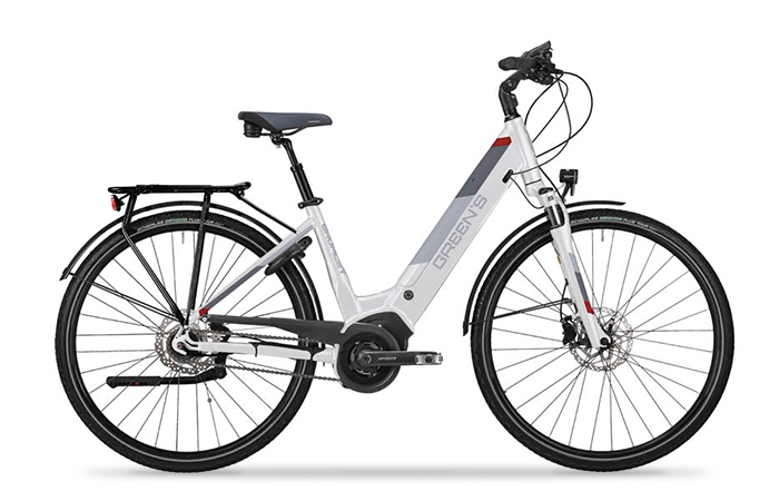 Das Greens Bromley, ein gemütliches E-Bike.