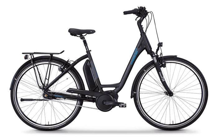 Das Kreidler Vitality Eco 3 Comfort ein gemütliches E-Bike.