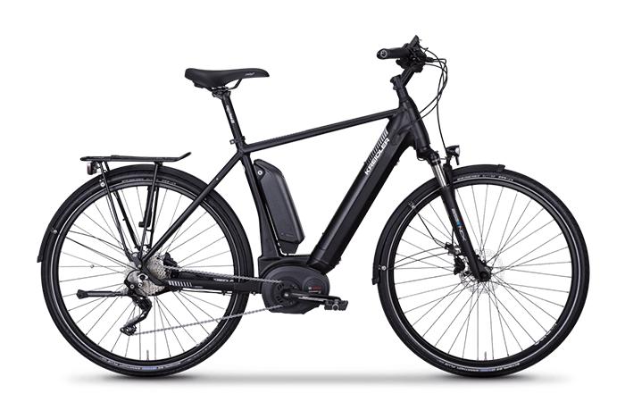 Das Kreidler Vitality Eco 8 EXT, ein gemütliches E-Bike.