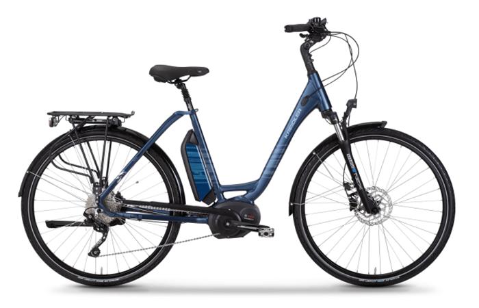 Das Kreidler Vitality Nina Bott Signature Edition, ein gemütliches E-Bike.