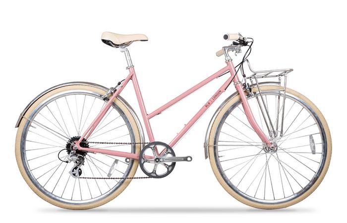 Das Brick Lane Bike Butterfly in Dusty Pink.