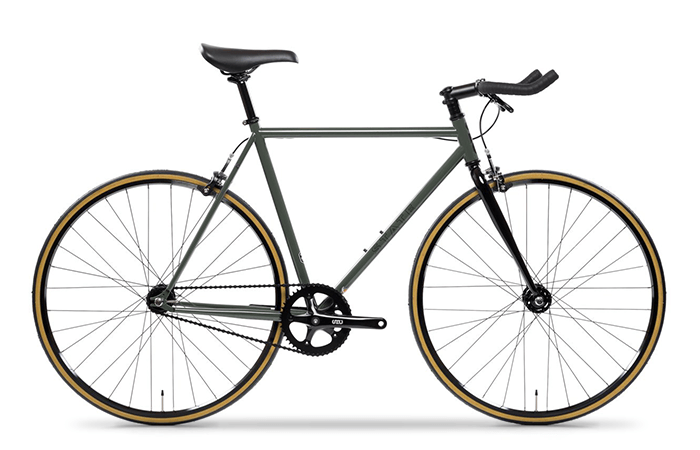 Das State Bicycle 4130 Army Green.