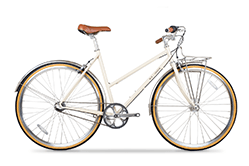 Das Brick Lane Bike Butterfly in Natural Beige.